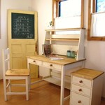 STUDY DESK three-piece set /  学習机3点セット