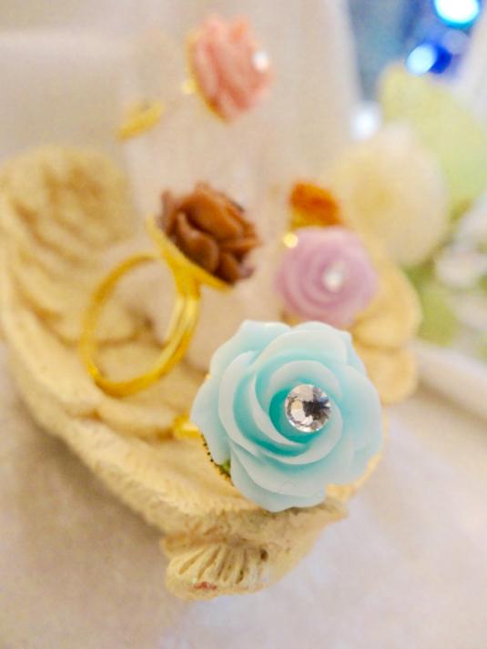 薔薇チョコレートリング【フリーサイズ】