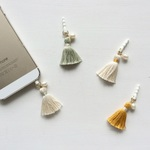 淡水真珠:pearl×tassel earphone jack