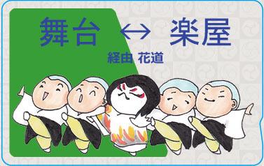 【送料込】ICカードステッカー・歌舞伎ラインダンス【再販】