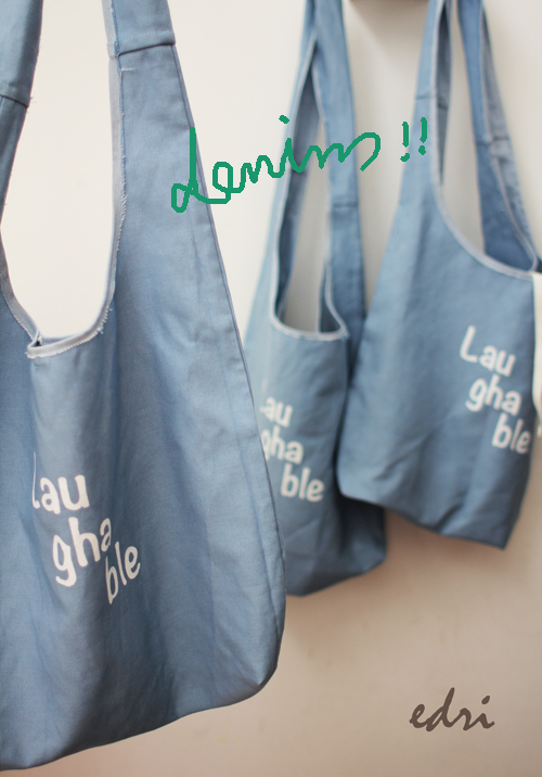 sale! denim big bag