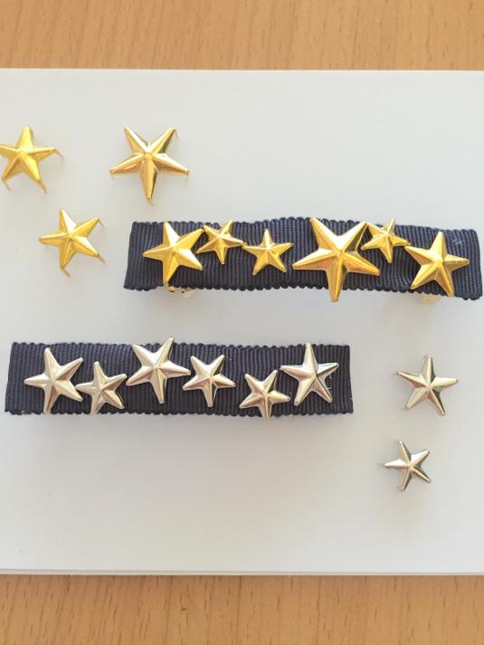 星スタッズバレッタ(8センチ)