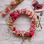 Wreath ***bobbin fragola