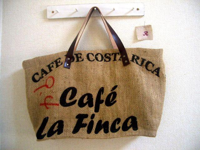 コーヒードンゴロスのトートバッグ コスタリカ