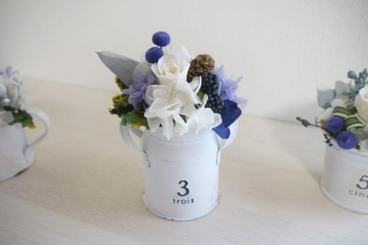 ホワイトブリキNo.3(ラベンダーブルー)