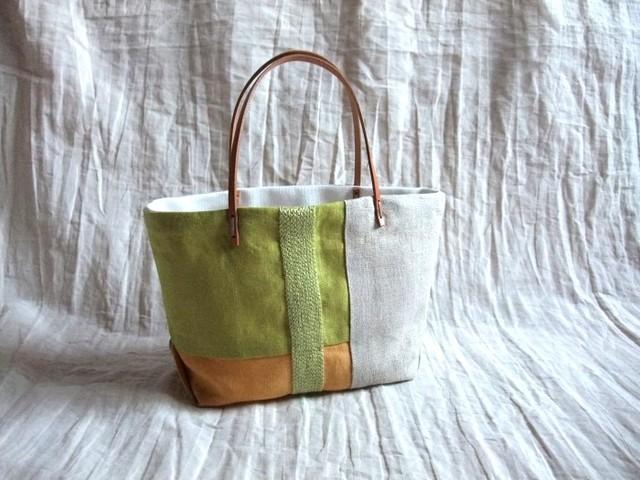 itoiro petit tote bag (melon)