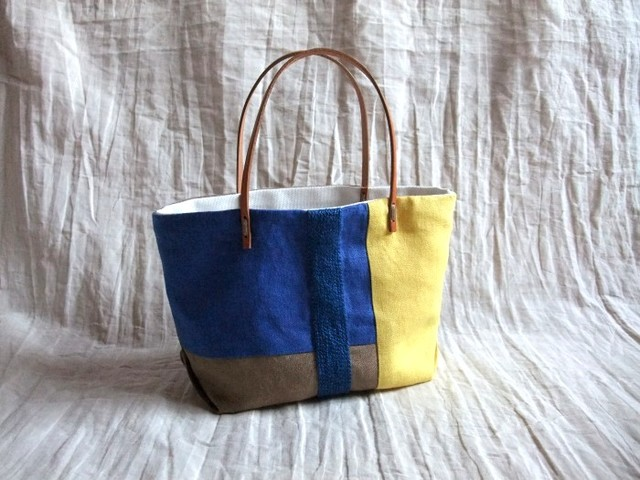 【sold out】 itoiro petit tote bag (yacht)