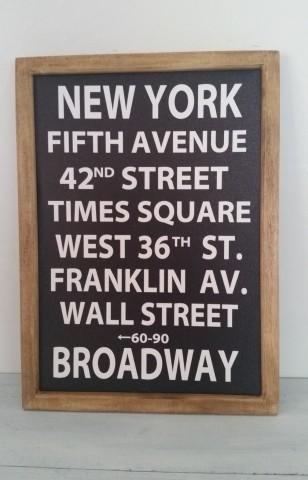 サインフレーム*ノーマル*NEW YORK