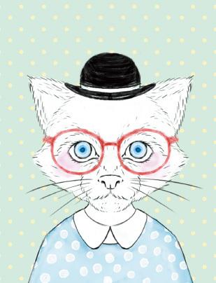 猫イラスト スマホケース オシャレな白猫さん ハンドメイドマーケット Minne