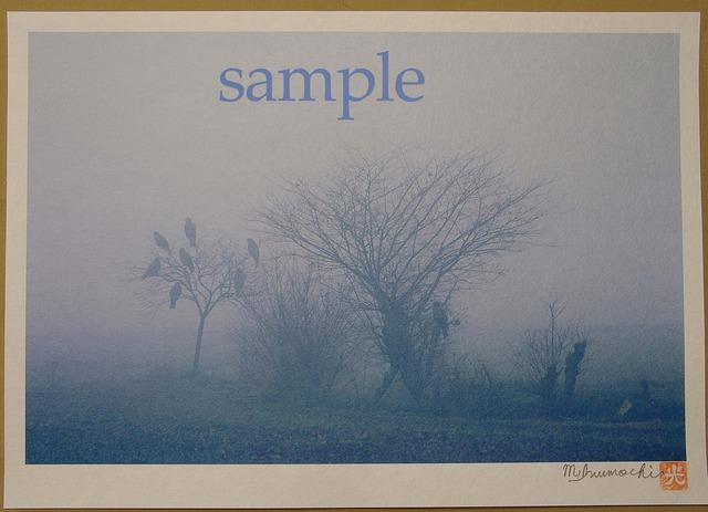 プリント朝霧と畔木シリーズ まちぼうけ