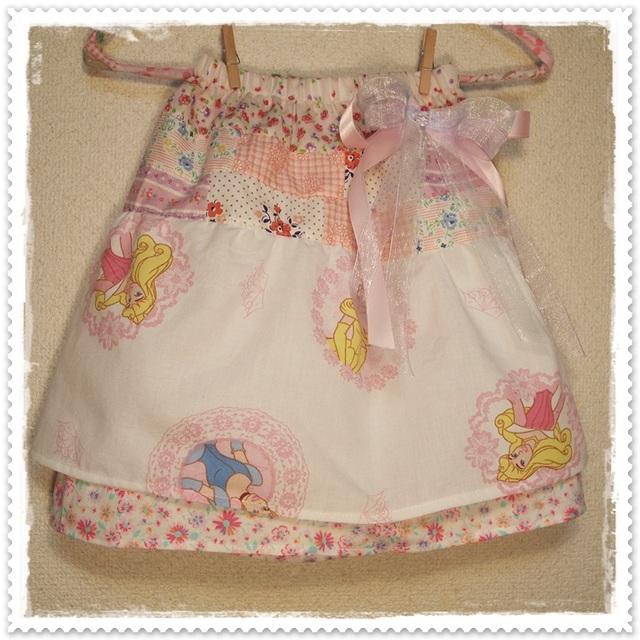 送料0! こどもスカート*size90〜100 princess。*