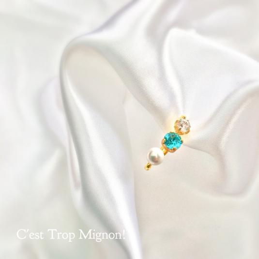 Pearl × Bijou Ear Clip