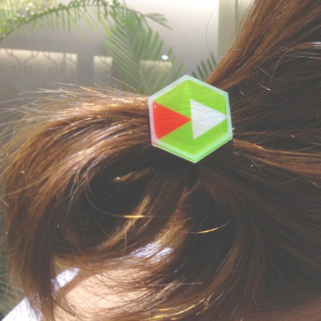 カクシカデカルトANIMAL hair elastic ゴム
