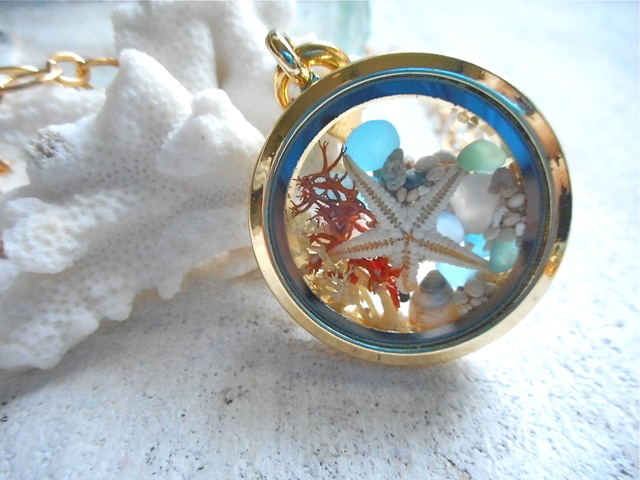 ☆再販☆  Seashore Memory Locket