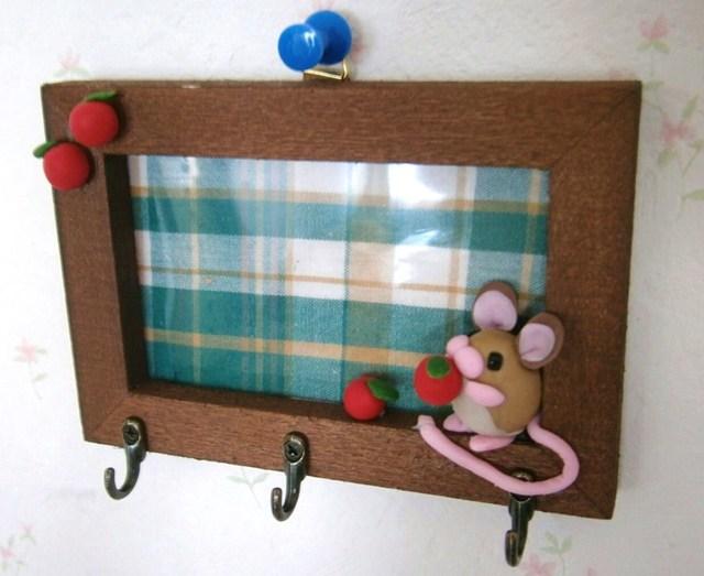 野ネズミさんの壁掛けフック