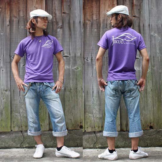 【JIKUU】 メンズドライTシャツ『ダブルフェザー』