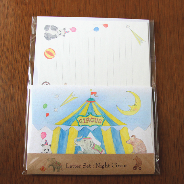Letter Set Night Circus(レターセット)