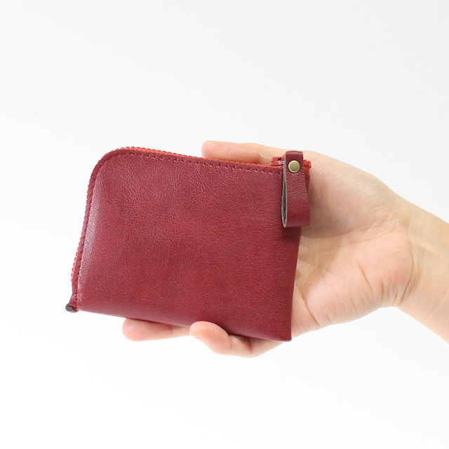 441415a77b07 薄型ミニ財布!7色展開・お札&カードも入って小銭も見やすい!(受注 ...