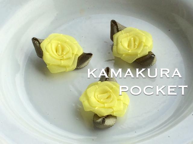 アップリケ(一輪の薔薇の花):5個<8/ly>