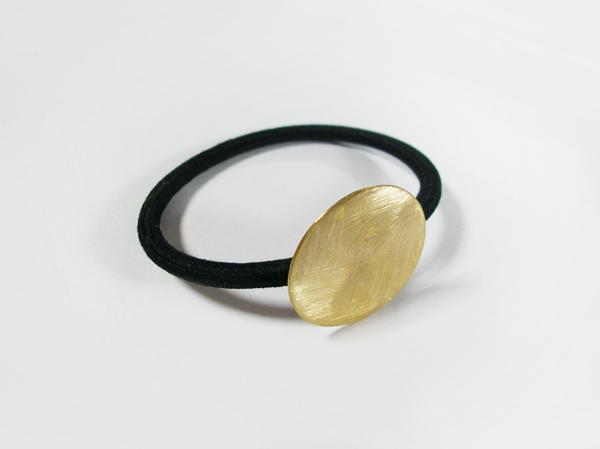 (再販)丸い真鍮製ヘアゴム