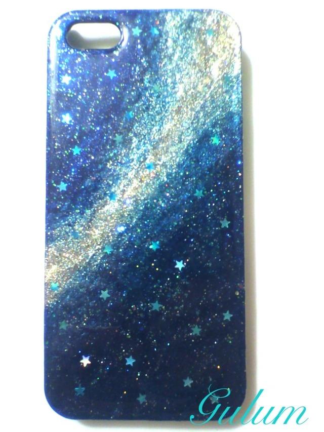ご予約品 銀河柄iPhone5ケース