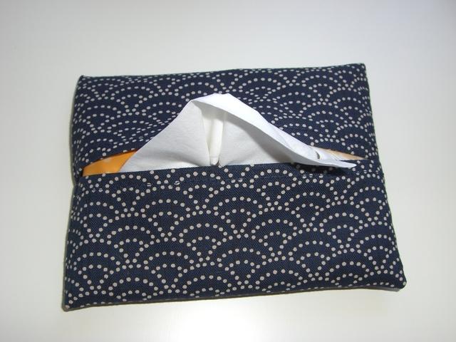 青海波 ポケットティッシュカバー