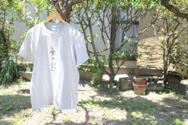 マレーグマさんメンズTシャツ(グレー)