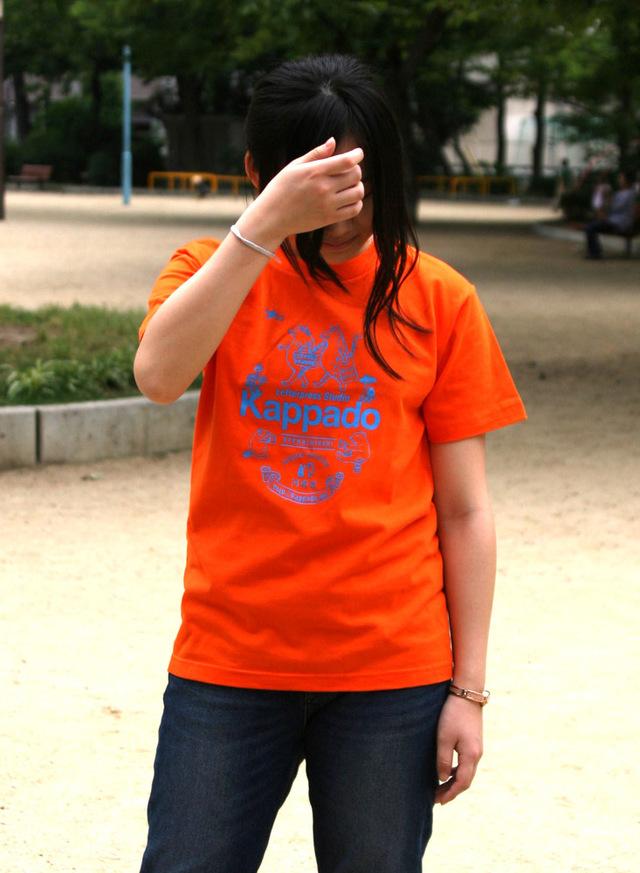 河童堂Tシャツ(オレンジ)