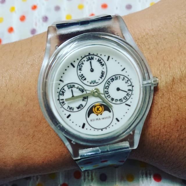 competitive price 08a07 772ec パーペチュアルカレンダー風腕時計