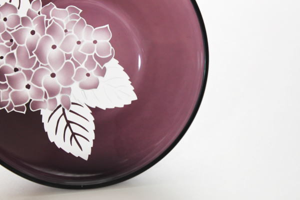 紫陽花 小皿A 紫