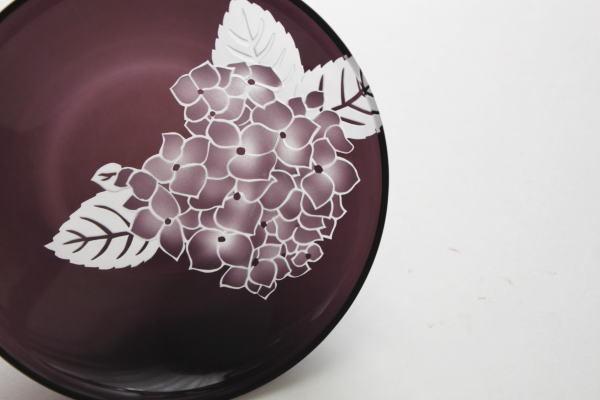 紫陽花 小皿B 紫