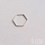 【再販】- Silver - Hexagonal Ring 2