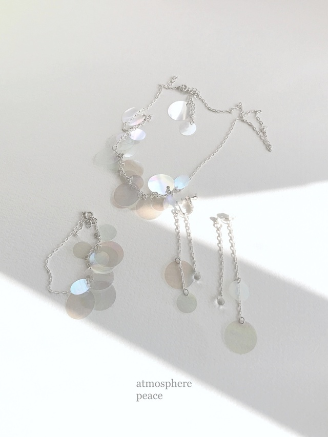 minamo(Clip-on or pierced earrings)