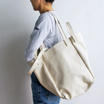 DROP SHOULDER TOTE BAG(オールキナリ )