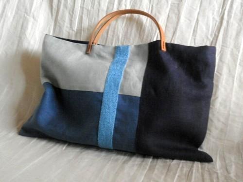 itoiro bag ( blue )