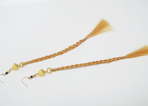 【m様オーダー】三つ編みピアス