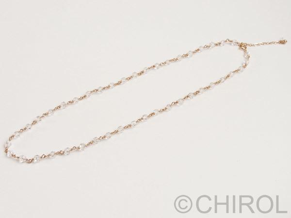 クオーツ(4mm)ネックレス/14kgf