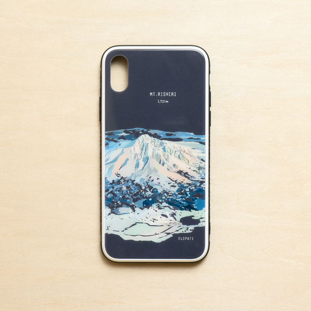 「MT.RISHIRI#glass」スマホケース