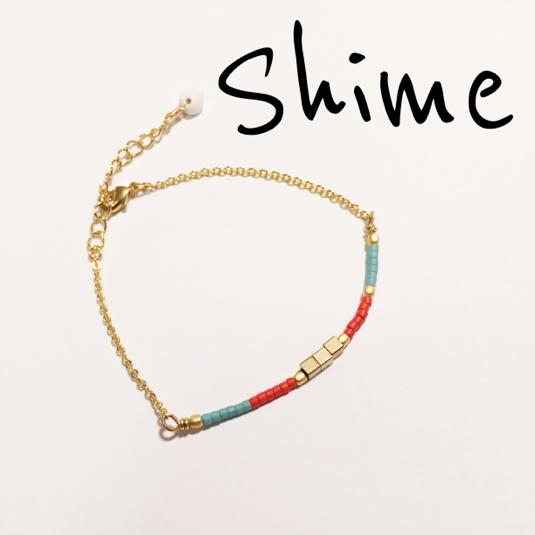 ☆再販×2☆ beads bracelet【RED】