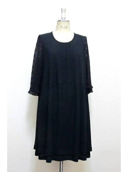 【限定1】袖レース☆ふんわりドレス