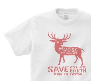 moose 150.160(女性M.L)  Tシャツ【受注生産品】