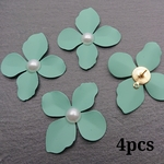 【kn698】【mint4個】mat color flower parts