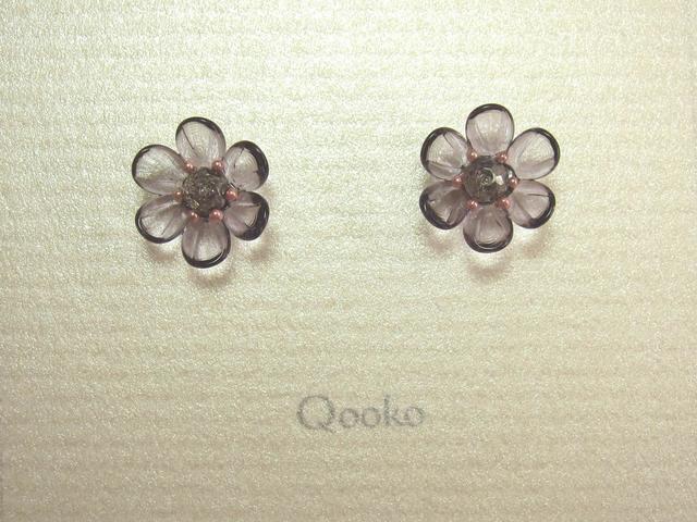 ガラスの花 (紫・ハナビラ6枚)