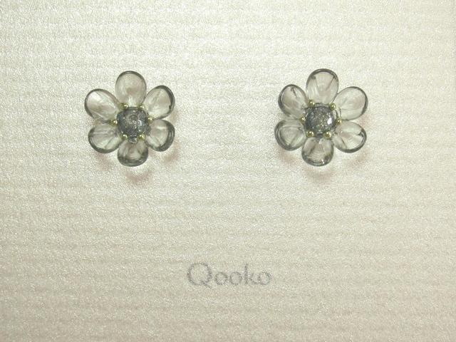ガラスの花 (ブルーグレー・ハナビラ6枚)※ご予約品