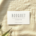 【名入れ】ORDER CARD - BOUQUET