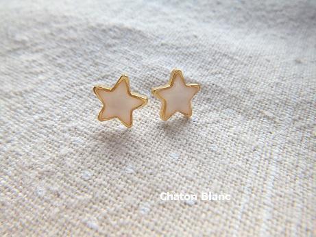 小さな星のピアス☆