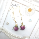 シンプル Rose bad **pierce/earring