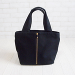 Double Face tote /BLACK