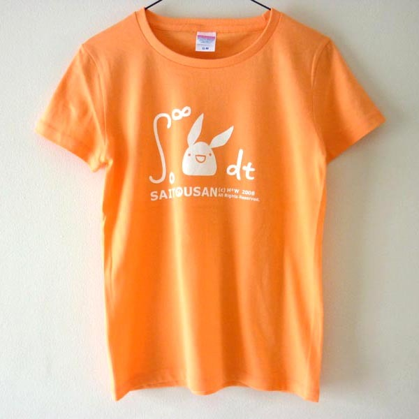 積分サイトウサンTシャツ シャーベットオレンジ