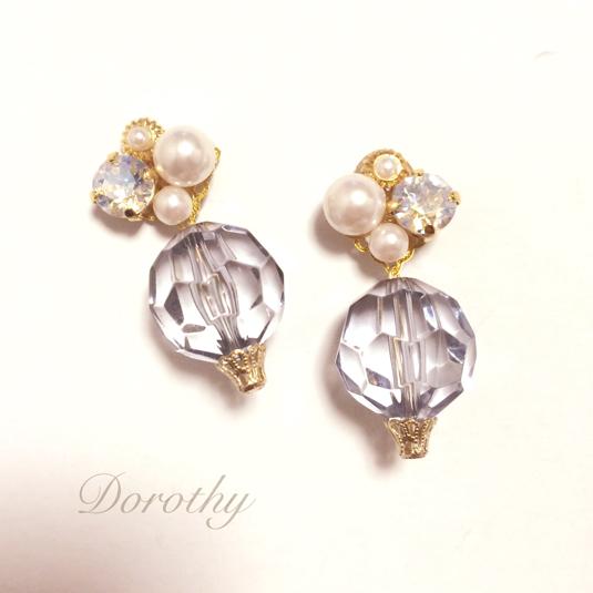 summer bijou?pearl&clear ball
